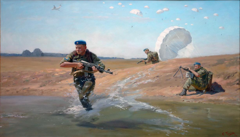 военная живопись картинки знахарка